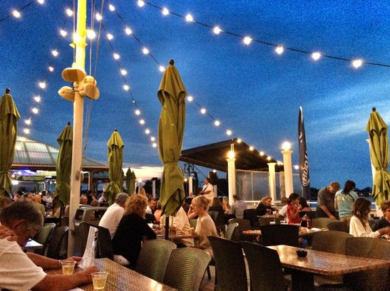 Jack Bakers Wharfside Patio Bar Point Pleasant Beach | Lobster House